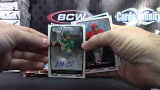 JimmyBag's 2012 Bowman Chrome Baseball, 2011 Topps Chrome&Prime SIgs NFL 4 Box Break
