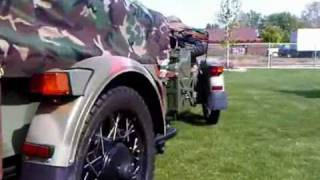 5. Helga's Russian Ural 2008 Gear-Up Military Custom Trailer