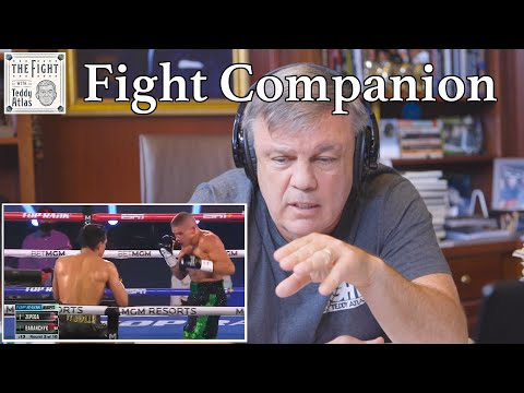 Teddy Atlas watches FIGHT OF THE YEAR Jose Zepeda vs Ivan Baranchyk   The Fight Companion