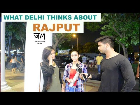 What Delhi Thinks About RAJPUT | Public Hai Ye Sab Janti hai | JM #JEHERANIUM