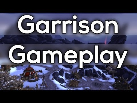 garrison - This time Ill show you some Garrison gameplay. Currently we only have access to the level 1 garrison and a few buildings. Also the Warlords of Draenor alpha ...