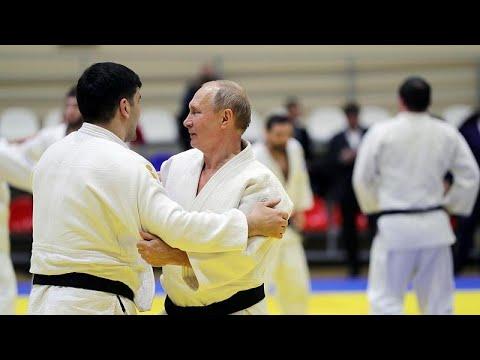 Ο Πούτιν τραυματίστηκε σε αγώνα…τζούντο!