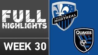 HIGHLIGHTS | Montreal Impact 3-1 San Jose Earthquakes by Major League Soccer