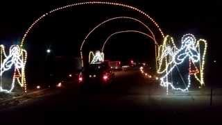 Bristol Motor Speedway in Lights And Track Drive