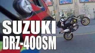 8. Test Ride: 2015 Suzuki DRZ400SM