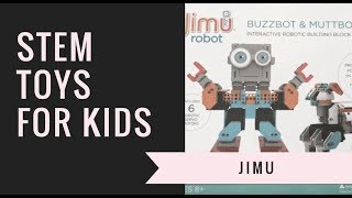 Check out Bill Sweeney from GuyandtheBlog.com's review of STEM toy Jimu Robot. Not only can you create the robot, but you can control it via an app! Super cool way to learn about STEM, science, and robotics. Available at BestBuy.com (http://bby.me/7m4a).