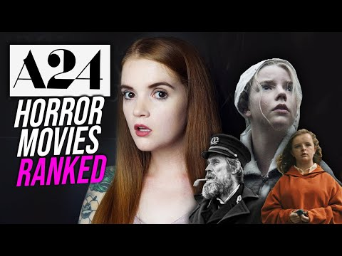 RANKING EVERY A24 HORROR MOVIE!  | Spookyastronauts