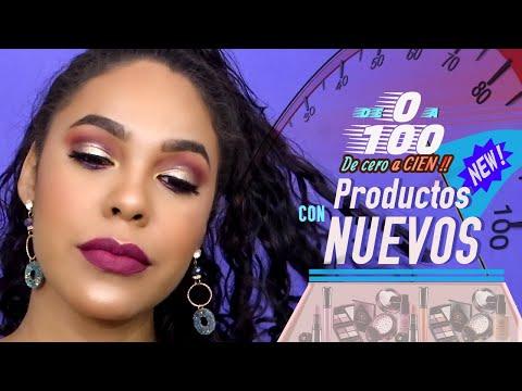 TRANSFORMACION DE MAQUILLAJE CON PRODUCTOS NUEVOS - 0 A 100  #NuevosProductos #5entendencia