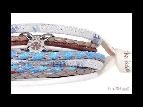 Pimps&Pearls Helping Hand Bracelet Ribbon