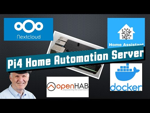 #352 Raspberry Pi4 Home Automation Server (incl. Docker, OpenHAB, HASSIO, NextCloud)