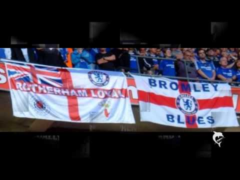 rangers chelsea - Chelsea Rangers Linfield Flags loads more i couldnt find that ive seen pictures of somewhere , here is just a few - Created with AquaSoft SlideShow for YouTu...