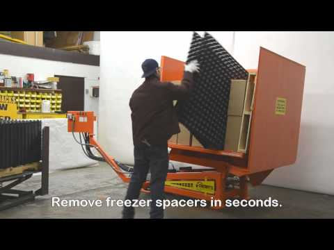 PSR 73 Freezer Spacer Removal Machine