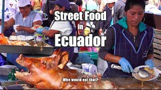 Some Street Foods filmed in Otavalo, Ecuador.