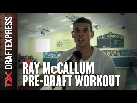 Ray McCallum 2013 NBA Pre-Draft Workout & Interview HD