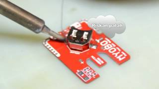 Myobot PCB : Trial Battery Holder (DIP and SMD Version)