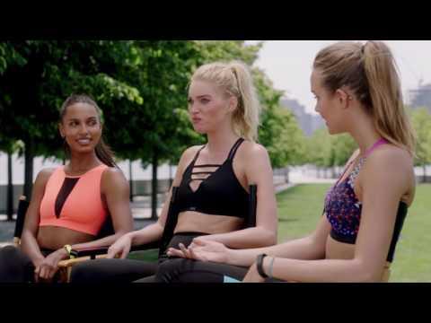 Victoria's Secret Angels Talk Sport Bras