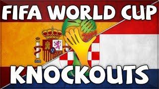 FIFA WORLD CUP KNOCKOUT - SPAIN VS CROATIA (Vs ZwebackHD)