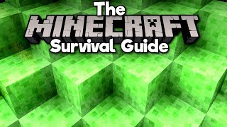 Introduction to Slime Blocks! • The Minecraft Survival Guide (Tutorial Lets Play) [Part 87]