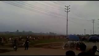 Dong Trieu Vietnam  City new picture : Công An cưỡng chế đất tại Đông Triều, tỉnh Quảng Ninh nhiều dân bị thương