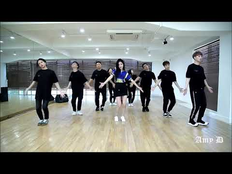 Park Kyung Ree (9MUSES) 'Blue Moon' Mirrored Dance Practice