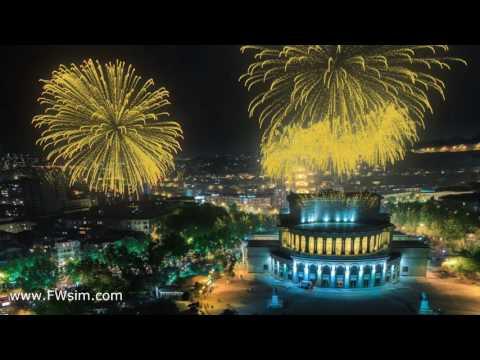 Yerevan, Opera Theater - FWsim (видео)