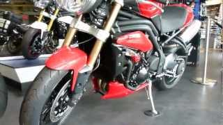 4. Triumph Speed Triple R 1050 cm³ 131 Hp 2012 * see also Playlist