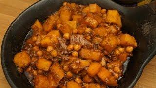 Ethiopian Food - Sweet Potato And Chickpea Wot Recipe