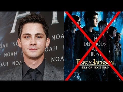 Logan Lerman Reveals Percy Jackson Is DONE!