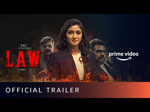 LAW - Official Trailer | Ragini Prajwal | Amazon Prime Video | July 17