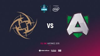 Ninjas in Pyjamas vs Alliance, ESL One Katowice 2019, bo2, game 1[Eiritel]