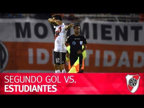 Gol de Ignacio Scocco vs. Estudiantes de La Plata