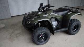 7. 2014 TRX250TE Recon ES SALE / Honda of Chattanooga TN Four Wheeler Dealer / Green Recon ES