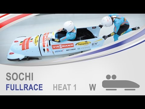 Sochi | Women's Bobsleigh Heat 1 World Cup Tour 2014/2015 | FIBT Official