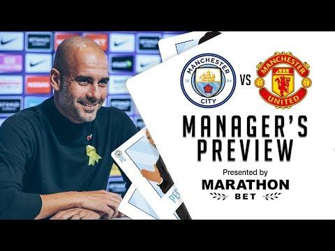 Video: Pep Guardiola previews City v United | PRESS CONFERENCE