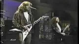 Megadeath - Tout Le Monde [live on Letterman]