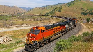 Video BNSF Military (Abrams Tanks) Train over Tehachapi MP3, 3GP, MP4, WEBM, AVI, FLV Agustus 2019