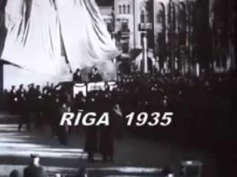 Открытие памятника Свободы в Риге 18.11.1935