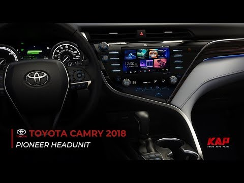 TOYOTA CAMRY 2018 Android navigation (PIONEER HEAD UNIT)