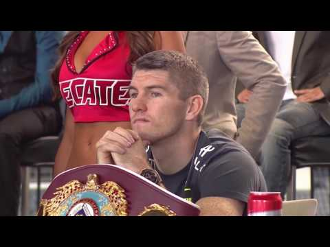 Watch: Canelo v Smith weigh-in