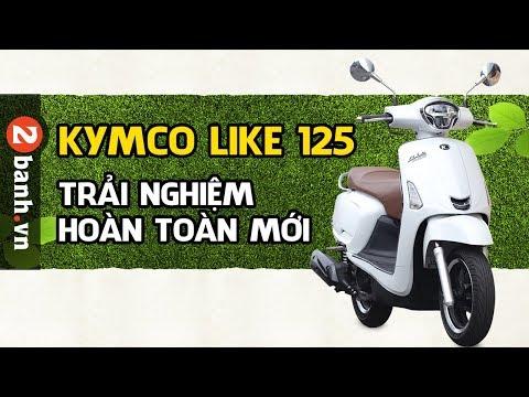 Kymco Like 125 ABS - Trải nghiệm xe ga dành cho phái đẹp - Thời lượng: 17 phút.
