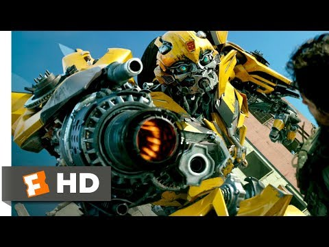Transformers: The Last Knight (2017) - A One Robot Army Scene (1/10)   Movieclips