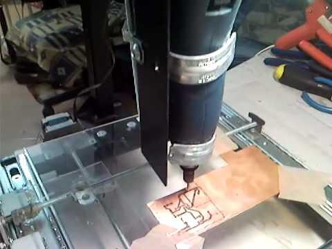 Mini Cnc Arduino con motores a pasos de impresora Epson