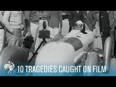 Caught - 10 Tragedies Caught on Film. British Pathe captured many extraordinary events on film over its 80 year history but sometimes the cameras were switched on whe...