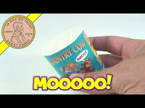 Country Cow Moooooooo Tipping Cow Sound Toy 1998, Loftus