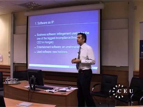 Geistiges Eigentum und strategisches Management, eine Gesprächsrunde an der CEU