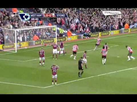 Stoke City 1 - 0 West Ham (Temporada 2009 - 2010)