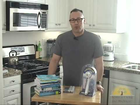 chlorinated water - Dr. Ralph explains how the chlorine in your tap water may be causing other problems.