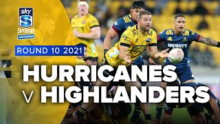 Hurricanes v Highlanders Rd.10 2021 Super rugby Aotearoa video highlights