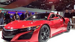 2016 Acura NSX Detailed First Look Review - 2015 NAIAS
