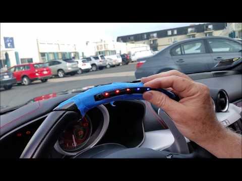 MAcarbon Custom F1 Style Ferrari LED Installation